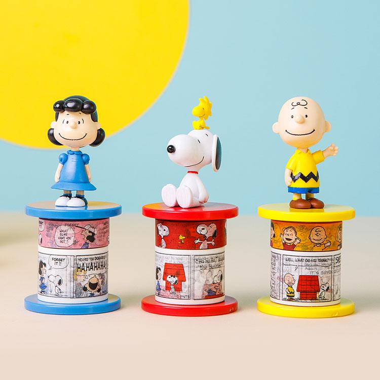 [Peanuts] 마스킹테이프&홀더 3종SET