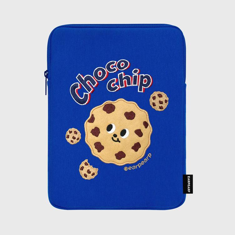 Chocochip cookies-blue-ipad pouch(아이패드 파우치)_(1578604)
