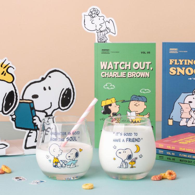 [Peanuts] 월간 스누피 2nd 스페셜 세트