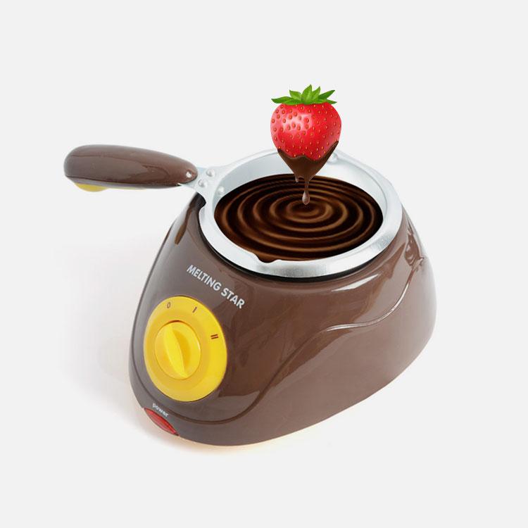에바 초콜릿중탕기 멜팅스타 1구-브라운 P-1000BR