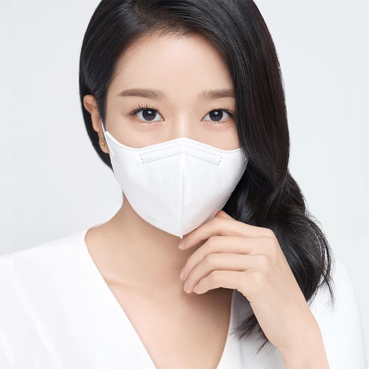 [아에르] 어드밴스드 KF94 마스크 화이트 10매(1매 개별포장)