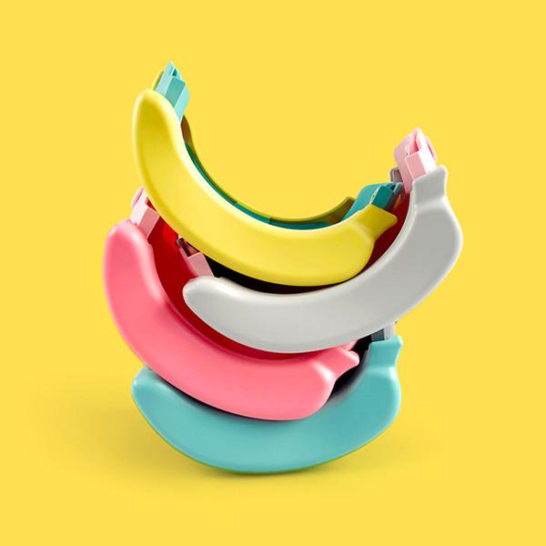 [프리미엄] 준주 바나나변기 휴대용 유아 아기변기