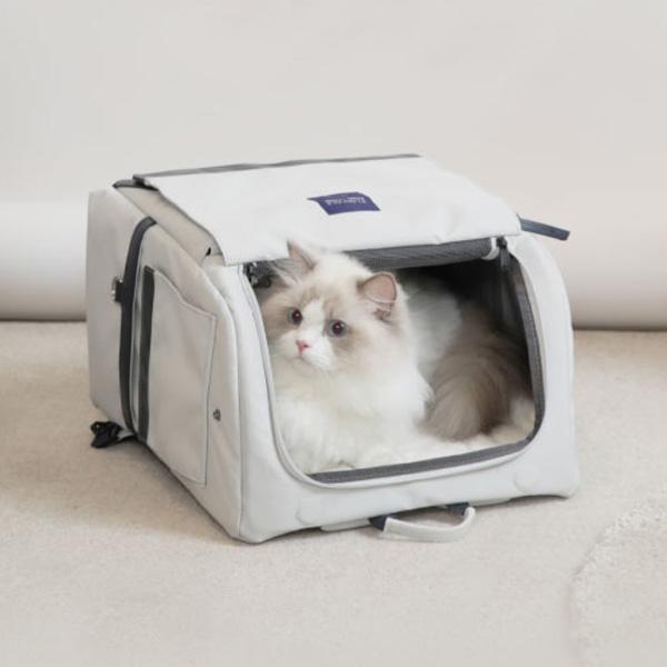 눕눕백 고양이 강아지 가방 이동가방 이동장 백팩 캐리어