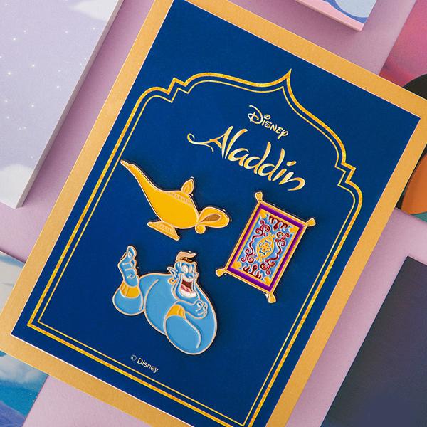 [디즈니] 알라딘 뱃지 세트