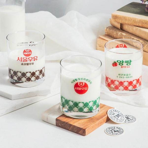 파는 곳 찾기 어려운 서울우유 레트로 컵
