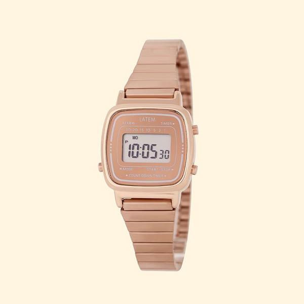 뉴트로 파스텔 디지털 시계_로즈골드(AG2G0601DAPP)