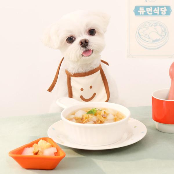 [굽네x듀먼] 강아지보양식 영양듬뿍 삼계탕&북어탕 6팩 세트
