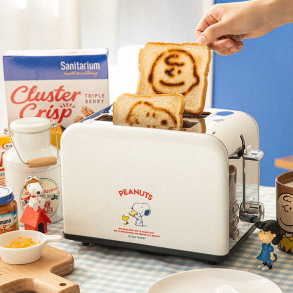 [Peanuts] 스누피 레트로 토스터기 WT-8150A
