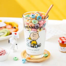 귀엽고 시원한 피너츠 유리컵