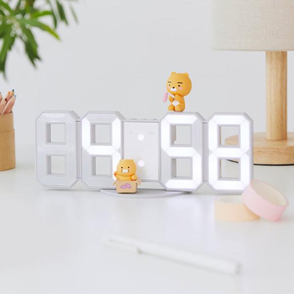 LED 시계_라이언&춘식이