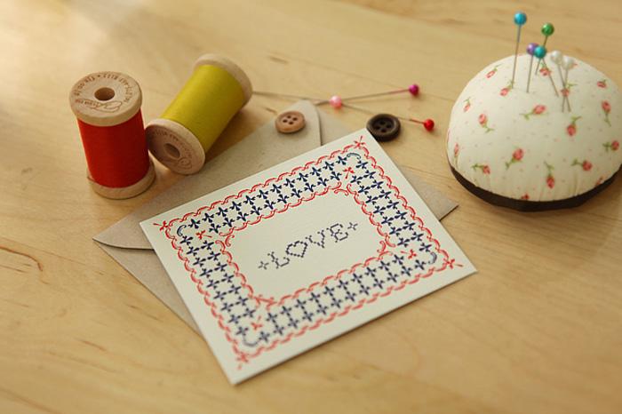 Petit Stitch Card