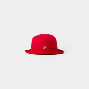 Macaron hat Hot Pink