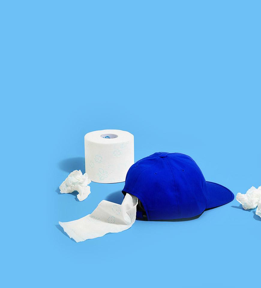 009 CAP blue
