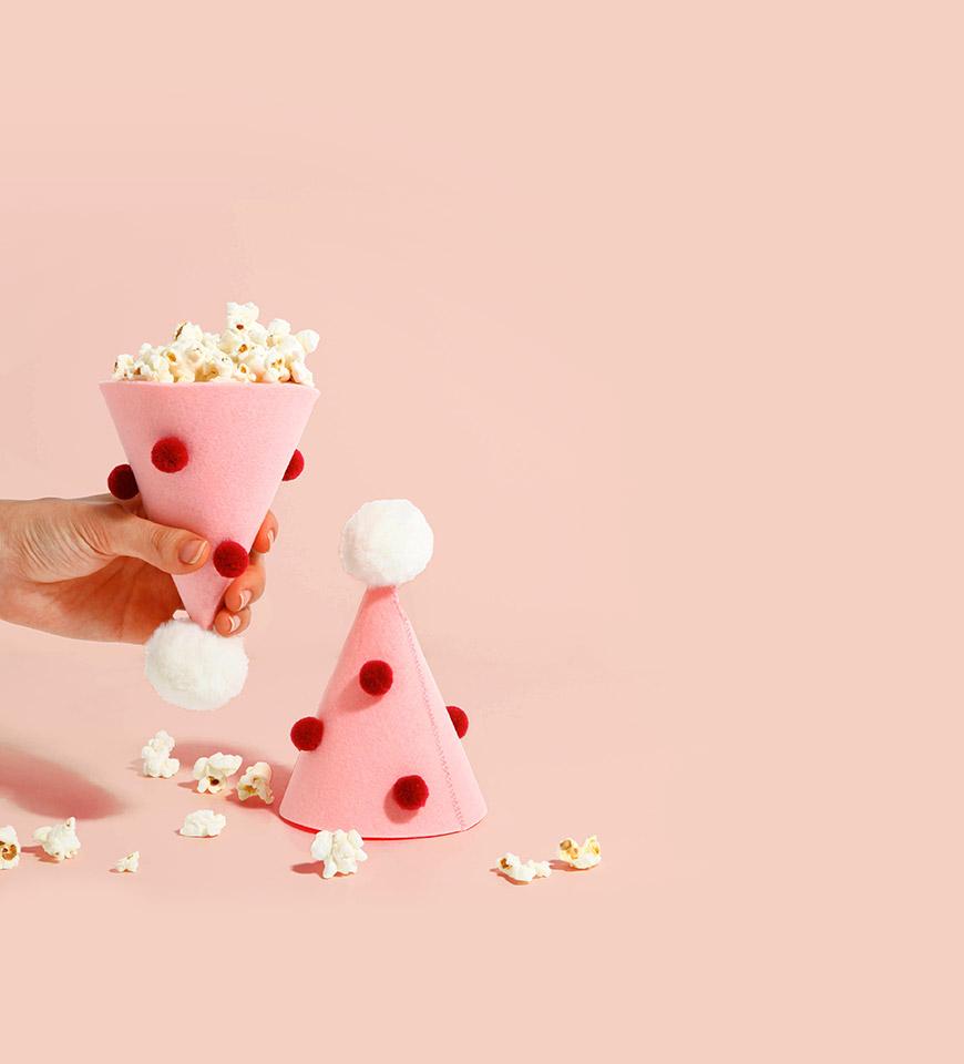 핑크팝 파티햇