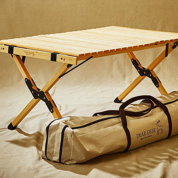 텐텐 캠핑족의<br>캠핑 테이블